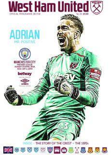 West Ham United Official Programmes – 28 April 2018