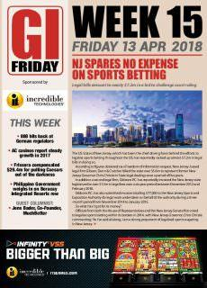 The Gambling Insider Friday – 27 April 2018