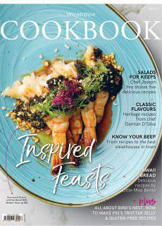 Wine & Dine Cookbook – April 2018