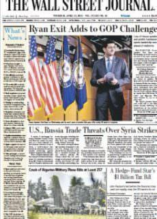 The Wall Street Journal – April 12 , 2018