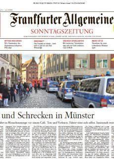 Frankfurter Allgemeine Sonntagszeitung – 08.04.2018
