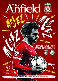 This is Anfield – Liverpool FC Programmes – 08 April 2018