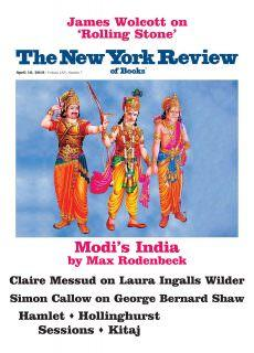 The New York Review of Books – April 19, 2018