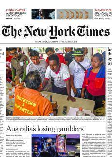 International New York Times – 6 April 2018