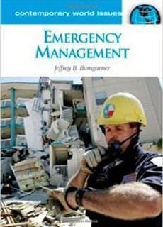 Emergency Management A Reference Handbook