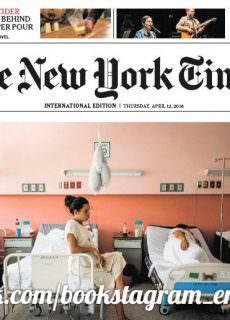 International New York Times – 12 April 2018