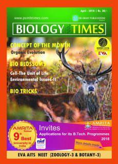BIOLOGY TIMES – April 2018