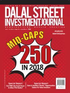 Dalal Street Investment Journal – April 02, 2018