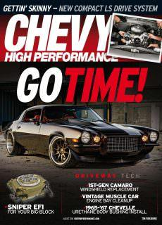 Chevy High Performance – August 2018