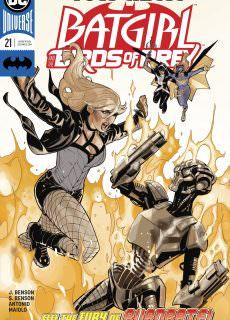 Batgirl and the Birds of Prey 021 (2018)