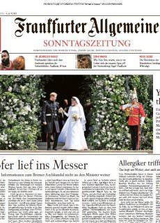 Frankfurter Allgemeine Sonntagszeitung – 20.05.2018