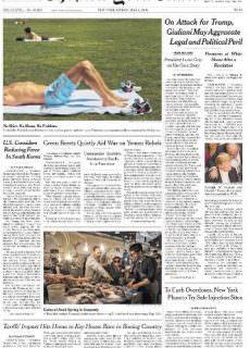 The New York Times – 4 May 2018
