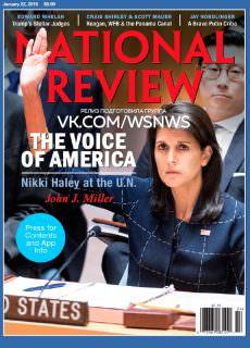 National Review – 22.01.2018