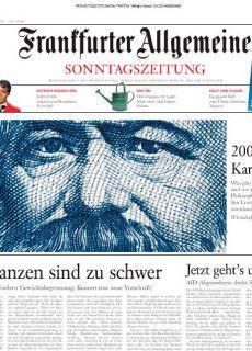 Frankfurter Allgemeine Sonntagszeitung – 29.04.2018