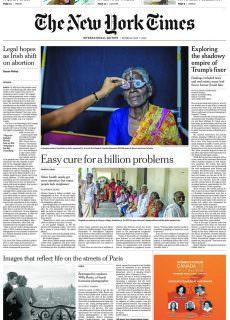 International New York Times – 07 May 2018