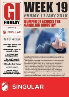 The Gambling Insider Friday – 10 May 2018