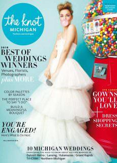The Knot Michigan Weddings Magazine – April 2018