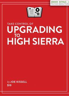 Take Control of Upgrading to High Sierra (1.1.2)