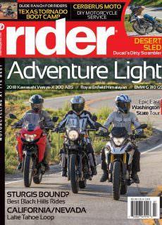Rider Magazine – July 2018
