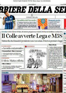 Corriere della Sera 13 Maggio 2018