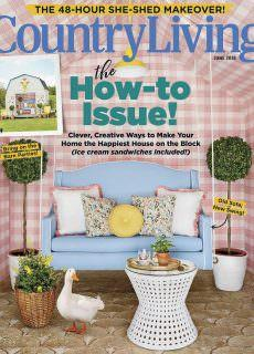 Country Living USA – June 2018