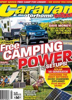 Caravan and Motorhome On Tour – May 2018