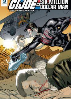 G.I. Joe – A Real American Hero vs. the Six Million Dollar Man 003 (2018)