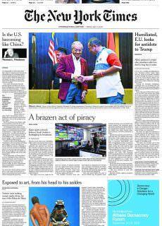 International New York Times – 11 May 2018