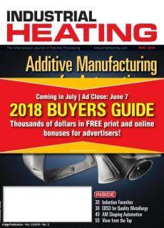 Industrial Heating – May 2018