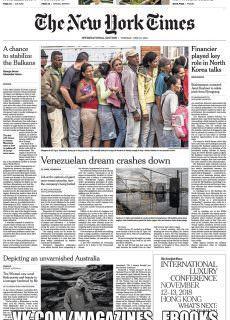 International New York Times – 19 June 2018