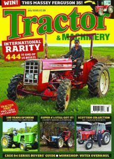 Tractor & Machinery – July 2018