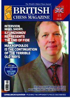 British Chess Magazine – 01.06.2018