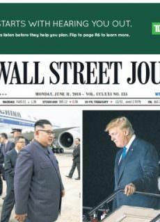 The Wall Street Journal – June 11, 2018
