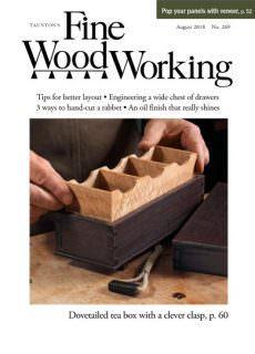 Fine Woodworking – August 2018