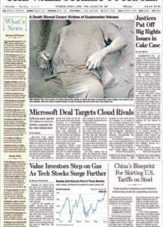 The Wall Street Journal – June 05, 2018