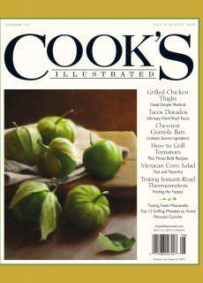 Cook's Illustrated – July 01, 2018