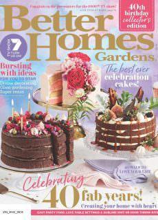 Better Homes and Gardens Australia – August 2018