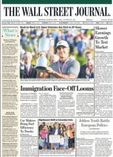 The Wall Street Journal – June 18, 2018