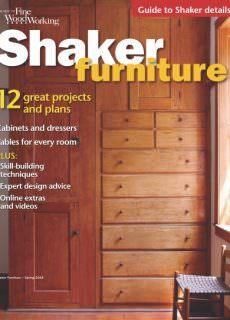 Fine Woodworking Specials – Shaker Furniture Spring 2018