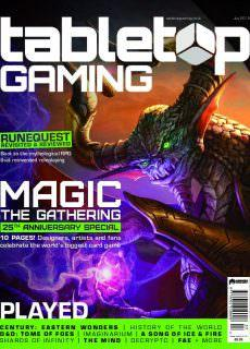 Tabletop Gaming – July 2018