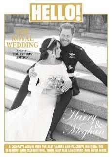 Hello! The Royal Wedding – Special Collectors' Edition, Harry and Meghan – June 2018