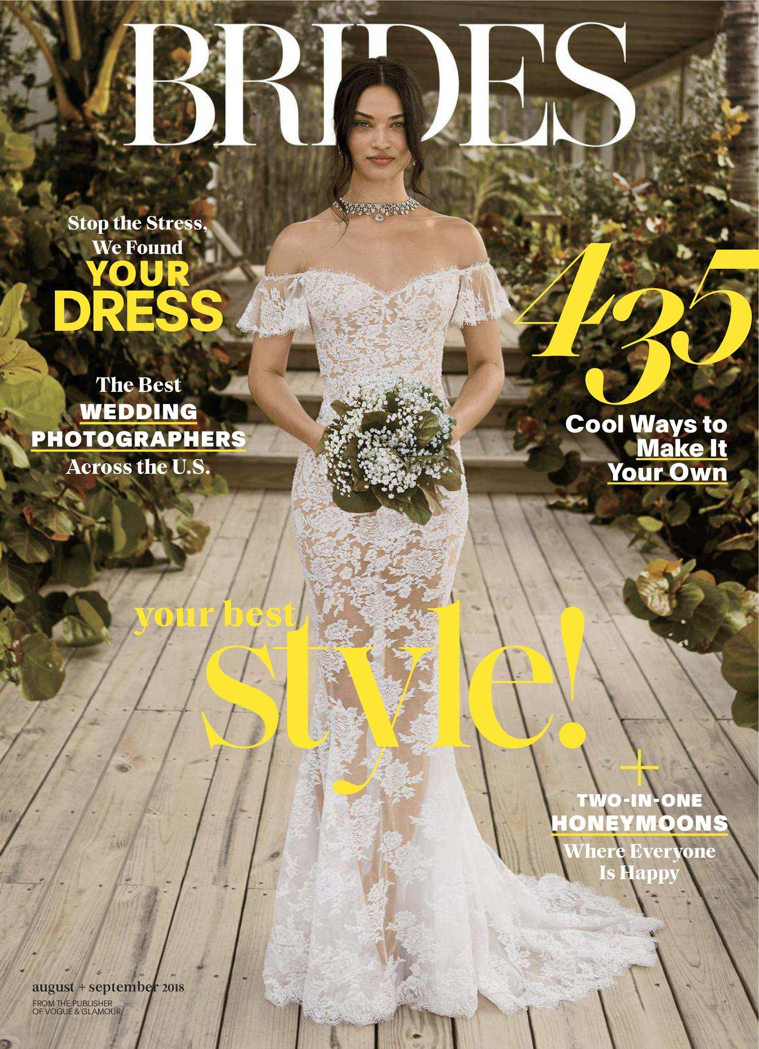 Wedding bride magazines 2017 pdf download free brides usa august september 2018 fandeluxe Choice Image