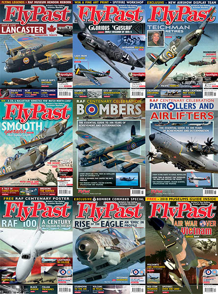 premium selection 98a23 6c9ba FlyPast – 2018 Full Year – 02 English   12 Issue + 2 Special